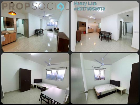 Apartment For Rent in Residensi Suria Pantai, Kuala Lumpur Freehold Semi Furnished 3R/2B 1.5k