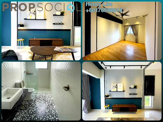 Condominium For Sale in Elevia Residences, Bandar Puchong Utama Freehold Semi Furnished 3R/3B 570k
