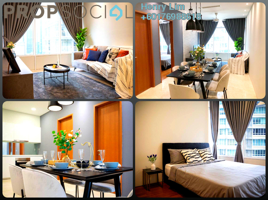 Serviced Residence For Sale in Sky Suites @ KLCC, KLCC Freehold Fully Furnished 3R/2B 1m