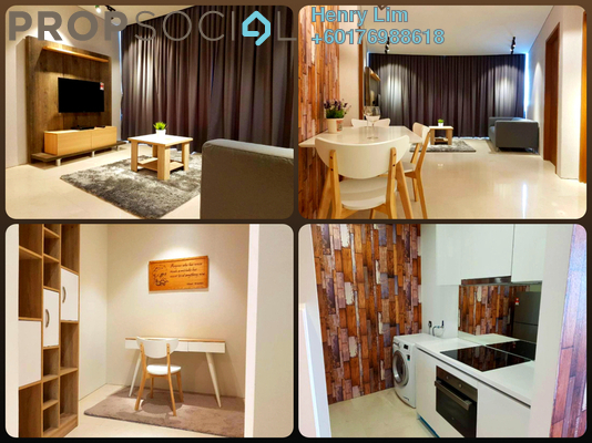 Serviced Residence For Sale in Vortex Suites & Residences, KLCC Freehold Fully Furnished 3R/2B 960k