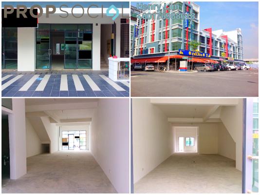 Shop For Rent in Kampung Padang Jawa, Shah Alam Freehold Unfurnished 0R/0B 4.5k