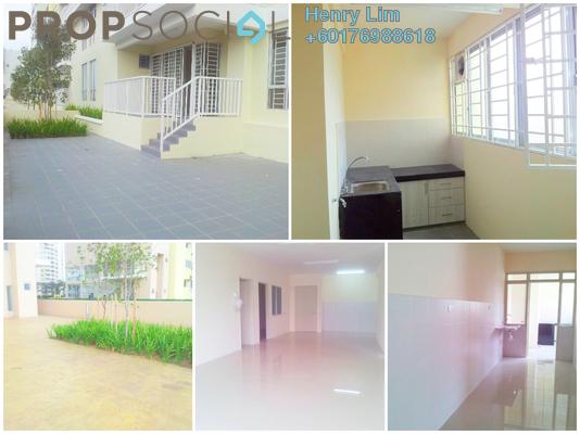 Condominium For Sale in Platinum Lake PV16, Setapak Freehold Semi Furnished 4R/2B 650k
