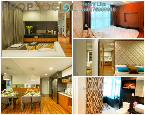 Serviced Residence For Sale in VERVE Suites, Old Klang Road Freehold Fully Furnished 2R/2B 750k