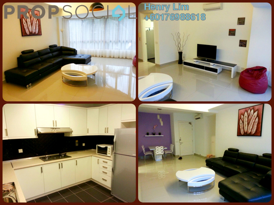 Condominium For Rent in Sri Penaga, Bangsar Freehold Fully Furnished 2R/2B 3.8k