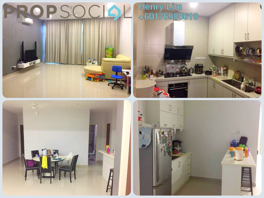 Townhouse For Sale in The Park, Seri Kembangan Freehold Semi Furnished 3R/2B 600k