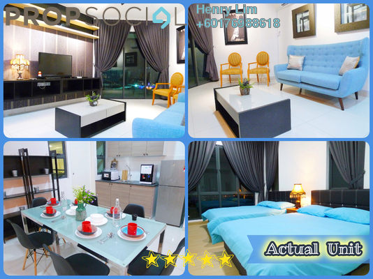 Serviced Residence For Rent in Trinity Aquata, Sungai Besi Freehold Fully Furnished 3R/2B 2.3k