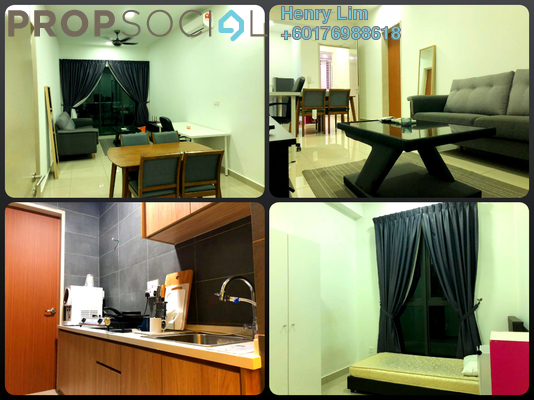Serviced Residence For Rent in CitiZen, Old Klang Road Freehold Fully Furnished 2R/2B 1.8k