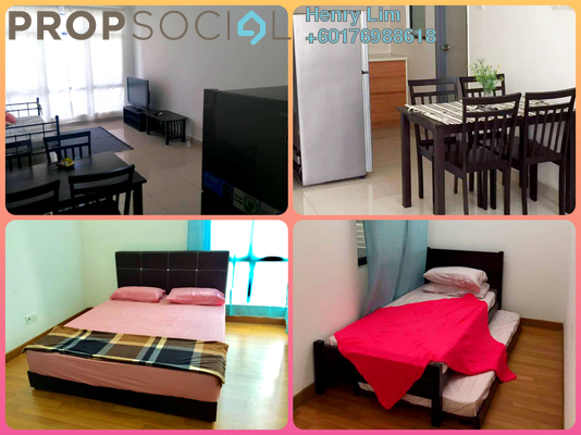 Serviced Residence For Rent in Amaya Maluri, Cheras Freehold Fully Furnished 1R/2B 1.9k