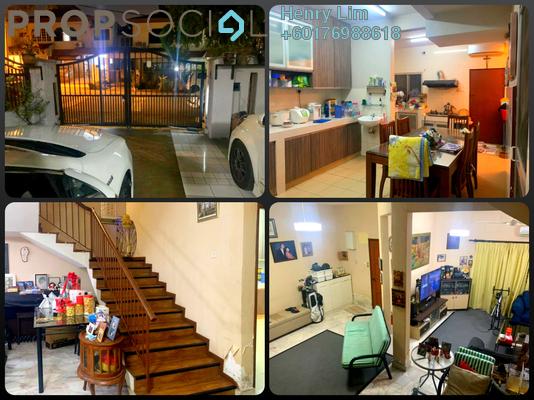 Terrace For Sale in Taman Mayang, Kelana Jaya Freehold Semi Furnished 4R/3B 1m