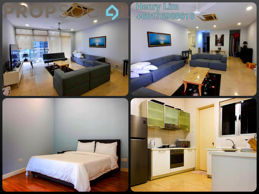 Condominium For Sale in Idaman Residence, KLCC Freehold Fully Furnished 3R/3B 1.5m