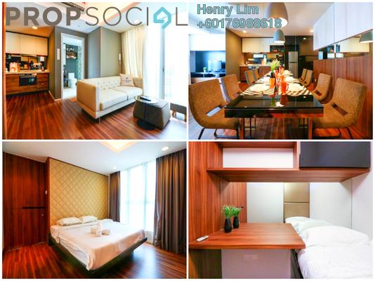 Serviced Residence For Sale in VERVE Suites, Old Klang Road Freehold Fully Furnished 2R/2B 700k