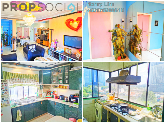 Condominium For Sale in Sri Bangsar Apartment, Bangsar Freehold Fully Furnished 3R/2B 650k