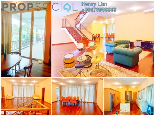 Bungalow For Rent in Seputeh Heights, Seputeh Freehold Fully Furnished 6R/7B 20k