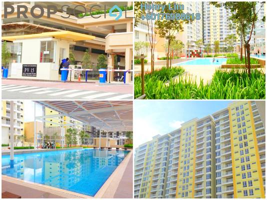Condominium For Sale in Platinum Lake PV15, Setapak Freehold Semi Furnished 4R/2B 500k