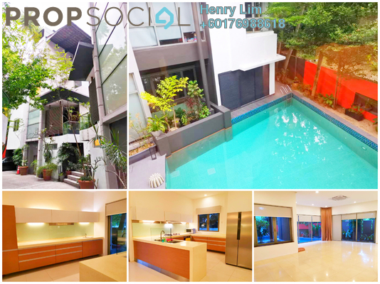 Bungalow For Rent in HPY Residences, Kuala Lumpur Freehold Semi Furnished 5R/5B 14k
