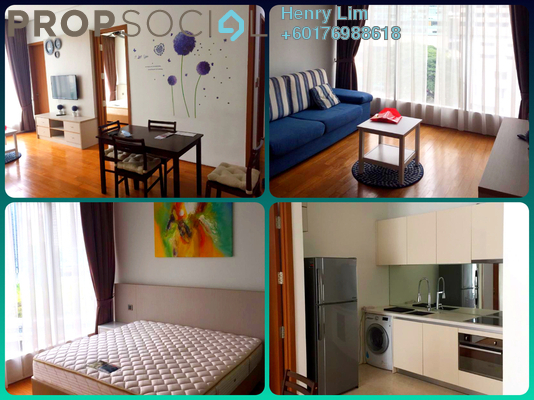 Serviced Residence For Sale in Vipod Suites, KLCC Freehold Fully Furnished 1R/1B 900k
