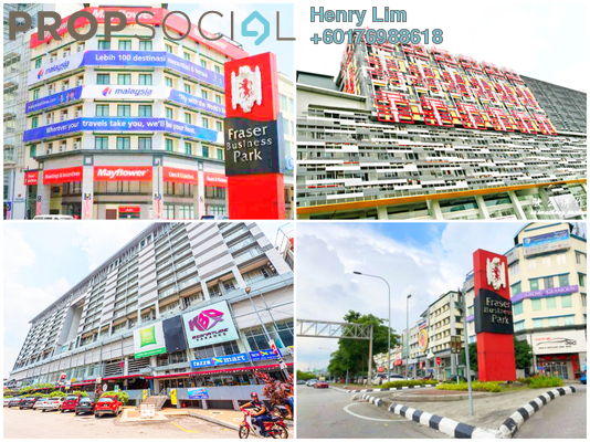 Shop For Sale in Fraser Business Park, Sungai Besi Freehold Fully Furnished 0R/0B 4.99m