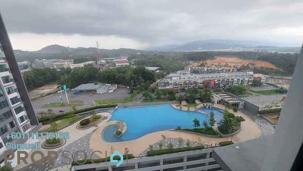 Serviced Residence For Rent in Kiara Plaza, Semenyih Freehold Semi Furnished 3R/2B 1k