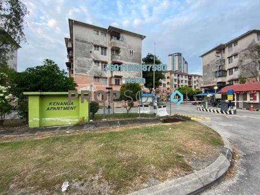 Apartment For Sale in Kenanga Apartment, Pusat Bandar Puchong Freehold Unfurnished 3R/2B 155k
