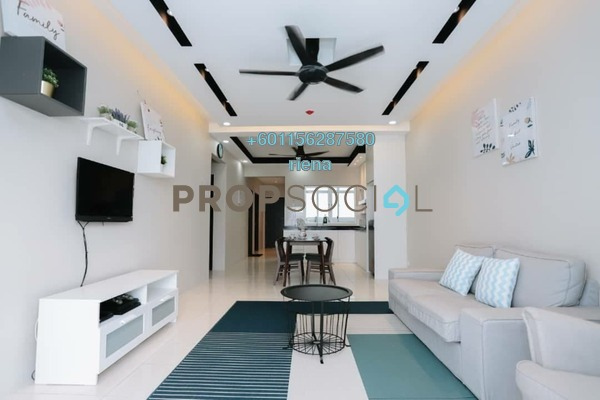 Apartment For Sale in Puncak Hijauan, Kajang Freehold Fully Furnished 3R/2B 380k