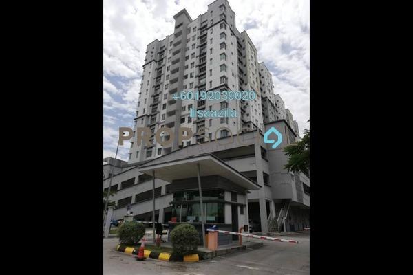 Apartment For Sale in Bangi Gateway, Bandar Baru Bangi Freehold Semi Furnished 3R/2B 330k