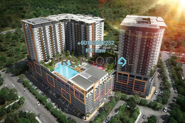 Condominium For Sale in Ascotte Boulevard, Semenyih Freehold Semi Furnished 3R/2B 280k