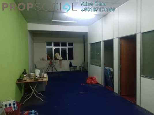 Office For Rent in Taman Daya, Tebrau Freehold Fully Furnished 0R/0B 1.2k