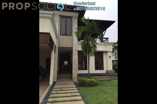 Bungalow For Sale in Forte, Bukit Jelutong Freehold Semi Furnished 6R/6B 3.65m