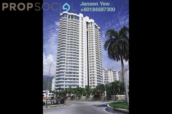 Condominium For Sale in Grand View, Tanjung Tokong Freehold Semi Furnished 4R/3B 890k