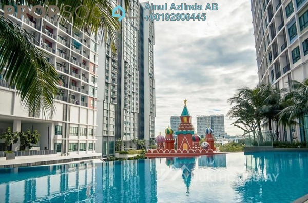 Condominium For Sale in i-City, Shah Alam Freehold Unfurnished 1R/1B 355k