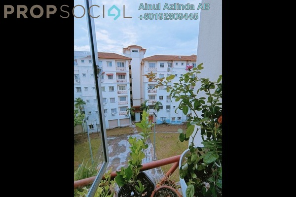 Apartment For Sale in Seri Galaksi Apartment, Subang Freehold Semi Furnished 3R/2B 299k