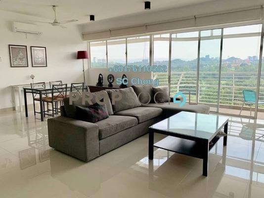 Condominium For Sale in The Plaza Condominium, TTDI Freehold Semi Furnished 3R/4B 1.5m