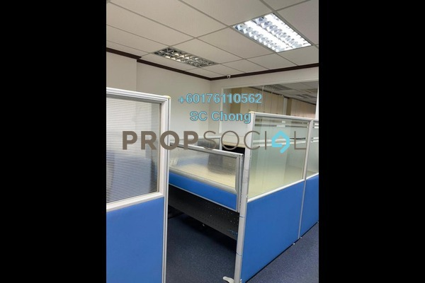 Office For Rent in Pelangi Damansara Sentral, Mutiara Damansara Freehold Semi Furnished 0R/2B 2.8k