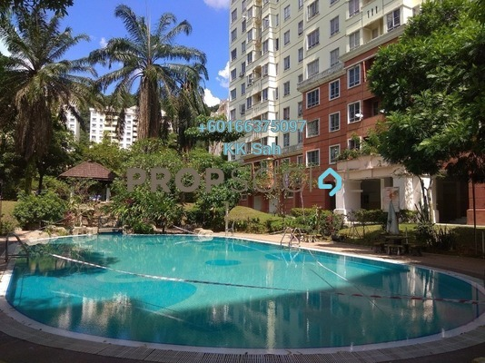 Condominium For Sale in Taman Wawasan, Pusat Bandar Puchong Freehold Semi Furnished 3R/2B 350k