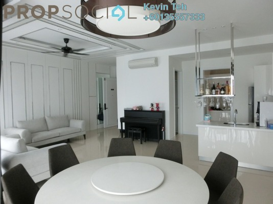 Condominium For Sale in Pavilion Hilltop, Mont Kiara Freehold Fully Furnished 3R/4B 1.55m
