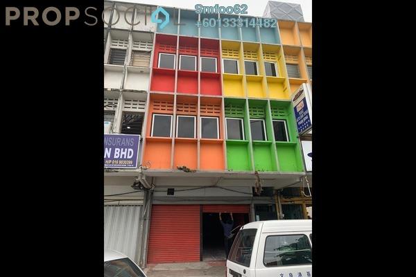 Shop For Rent in Taman P Ramlee, Setapak Freehold Unfurnished 0R/0B 5.5k