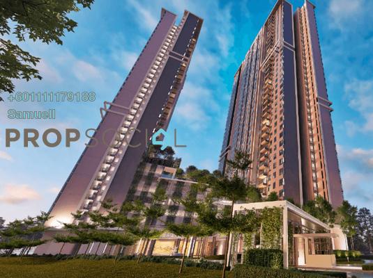 Condominium For Sale in Arunya @ KL North, Jinjang Freehold Semi Furnished 2R/2B 468k
