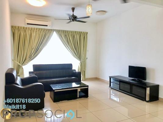 Condominium For Rent in D'Rich Executive Suites, Iskandar Puteri (Nusajaya) Freehold Fully Furnished 4R/3B 1.7k