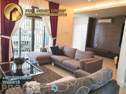 Terrace For Sale in Perjiranan 11, Bandar Dato' Onn Freehold Semi Furnished 4R/4B 970k