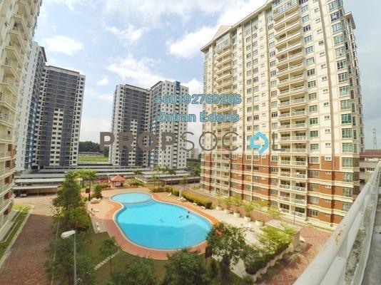 Condominium For Rent in De Centrum Unipark Condominium, Kajang Freehold Semi Furnished 3R/2B 1.25k