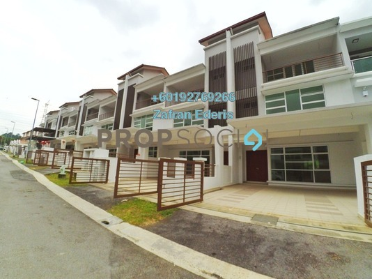 Superlink For Sale in Taman Pinggiran Putra, Bandar Putra Permai Freehold Unfurnished 5R/4B 860k