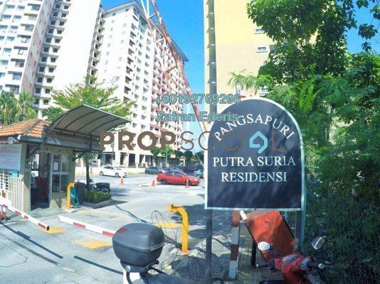 Apartment For Sale in Putra Suria Residence, Bandar Sri Permaisuri Freehold Unfurnished 3R/2B 340k