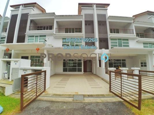 Superlink For Sale in Taman Pinggiran Putra, Bandar Putra Permai Freehold Unfurnished 5R/4B 980k