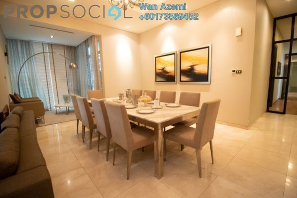 Condominium For Rent in The Pearl, KLCC Freehold Fully Furnished 3R/4B 11k