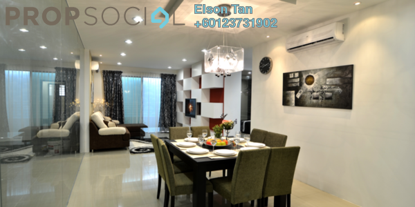 Condominium For Sale in D'Aman Residences, Puchong Freehold Semi Furnished 3R/2B 440k