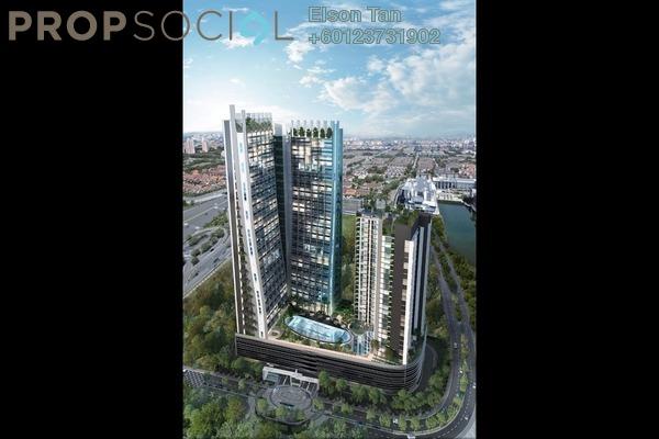 Condominium For Sale in The Edge Residen, Subang Jaya Leasehold Semi Furnished 2R/2B 500k