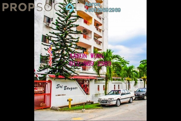 Apartment For Sale in Sri Bangsar Apartment, Bangsar Freehold Semi Furnished 2R/2B 620k