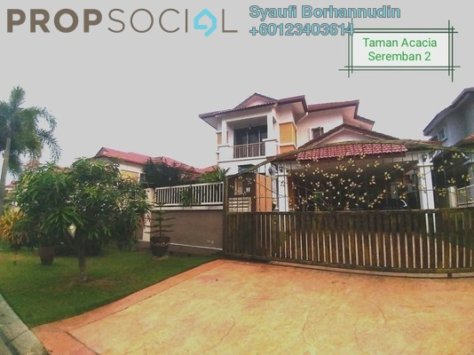 Semi-Detached For Sale in Garden City Homes, Seremban 2 Freehold Unfurnished 5R/4B 1.12m
