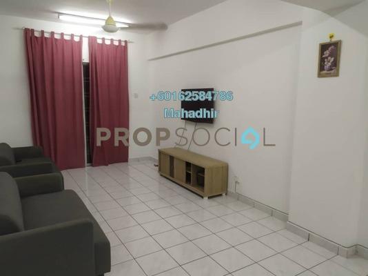 Apartment For Rent in Sri Lavender Apartment, Kajang Freehold Semi Furnished 3R/2B 1.1k