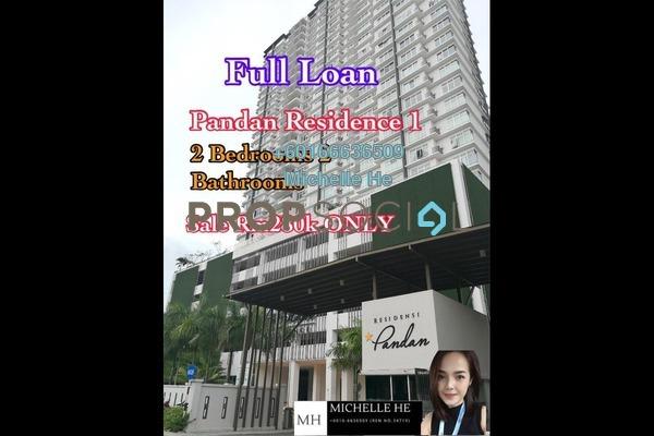 Condominium For Sale in Pandan Residence 1, Johor Bahru Leasehold Semi Furnished 2R/2B 280k